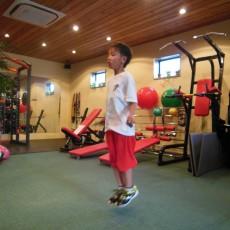 運動会に向けて、親子でトレーニング!