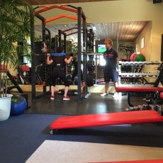 トレーニングがしやすい空間
