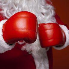 ミット打ち「ボクシングシェイプ」