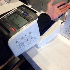 血圧計導入