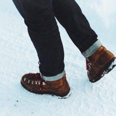 雪の上を歩けば、足が速くなる?!