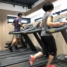 有酸素マシンを使ってのトレーニング!
